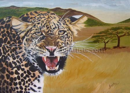 """African Leopard"""