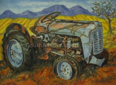 """Old Tractor"""