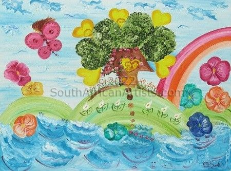 """Naive Art - After the Storm"""