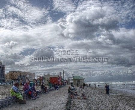 """Cloudy Day at the Beach"""