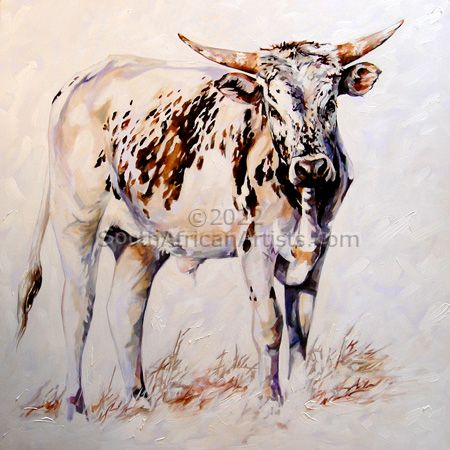 """Sprinkle the young Nguni Bull"""