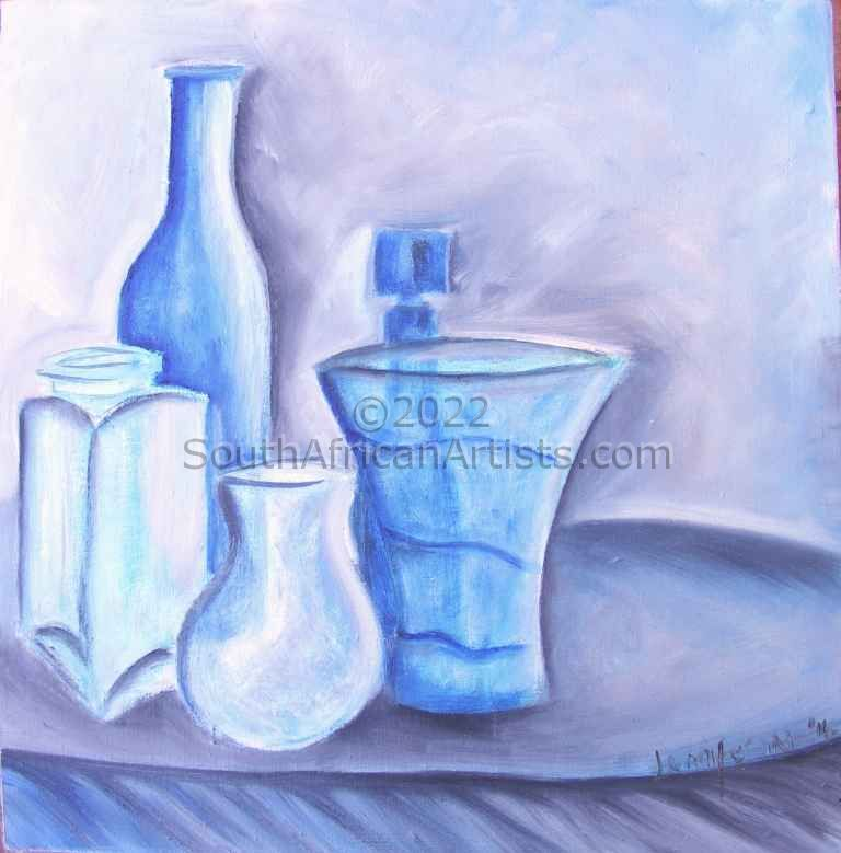 """Mothers Blue Vases"""