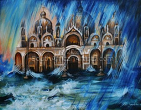 """Water - San Marco Cathedral in Venice"""