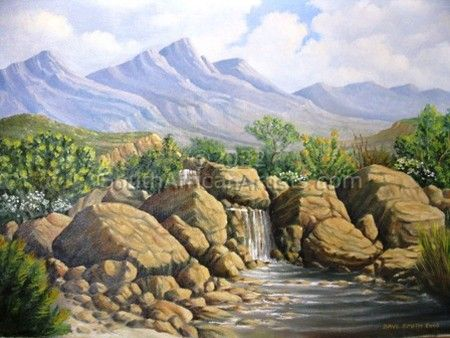 """Boland Waterfall"""
