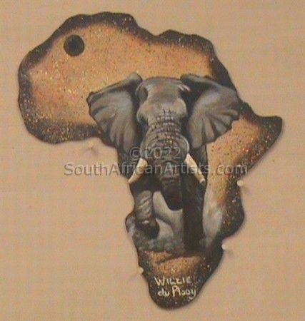 """Out Of Africa Edition - Elephant"""