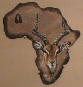 """Out Of Africa Edition - Impala"""