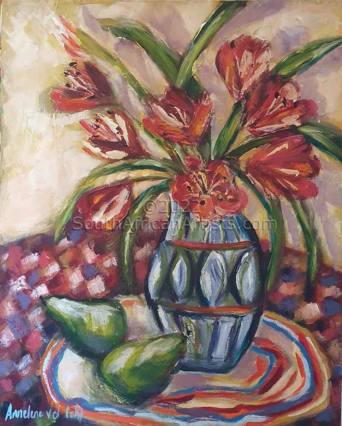 """Tulips and Pears"""