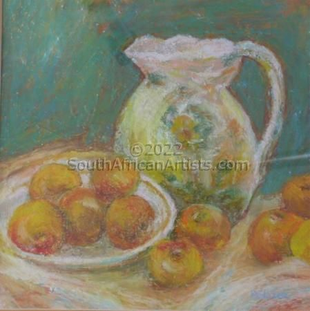 """Fruit in Vase"""
