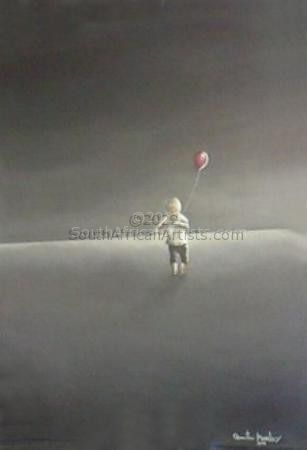 """Boy with Red Balloon"""