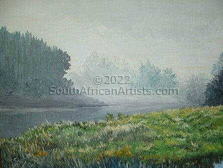 """Misty Forest"""