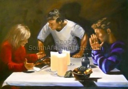 """The Supper At Moresby"""