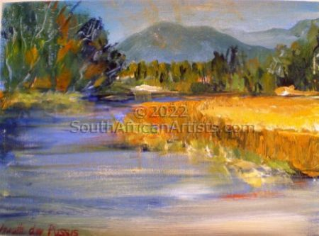 """River with Reeds"""