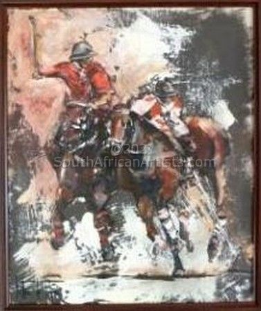 """Horse painting Polo"""