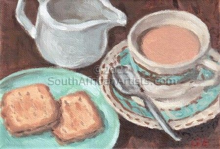 """Still Life With Biscuits"""