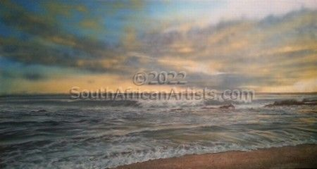 """Day Break Seascape"""