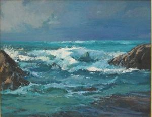 """West Coast Seascape"""