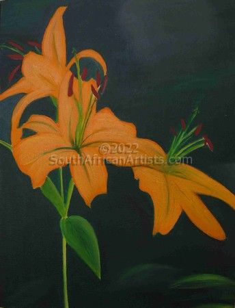 """Yellow Day Lilies"""