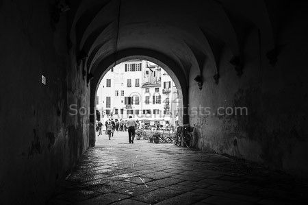 """To the Square - Lucca"""
