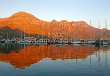 """Houtbay Harbour Western Cape South Africa"""