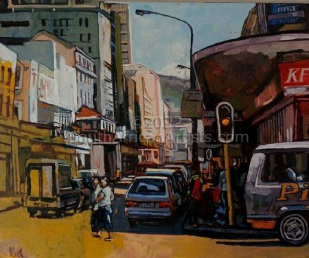 """Hot Afternoon Long Street"""