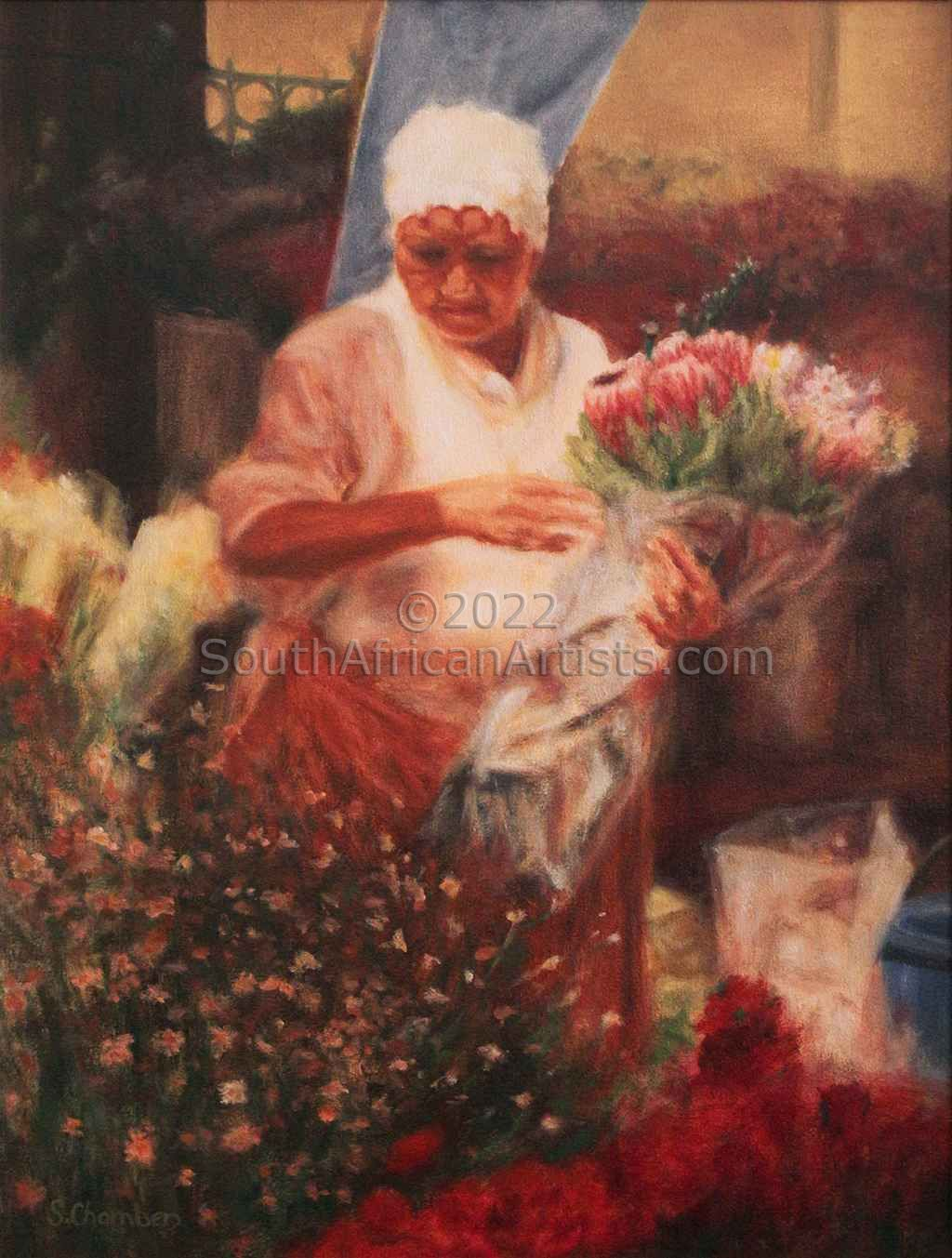 """Adderley Street Flower Seller"""