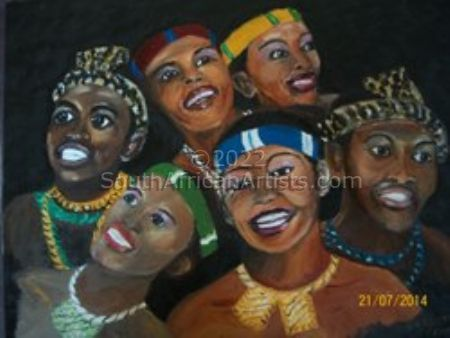 """African Smiles"""
