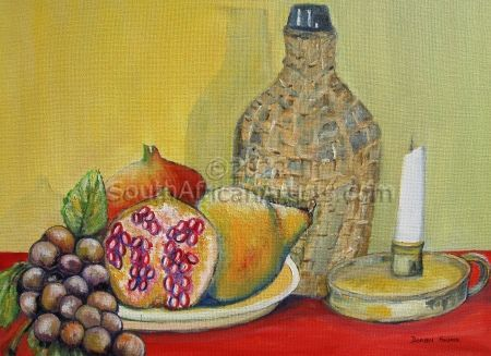 """Fruit and Wine by Candlelight"""
