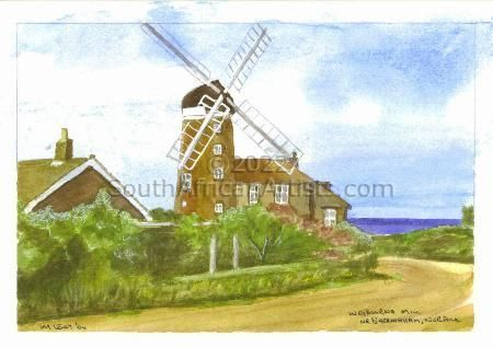"""Weybourne Mill nr Sheringham, Norfolk"""