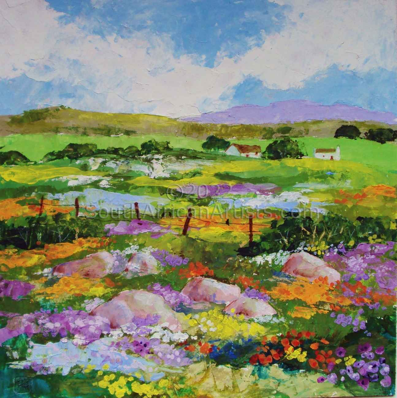 """Floral Explosion in Namaqualand"""