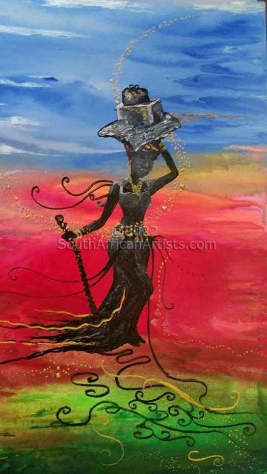 """African Swaying Woman 1"""