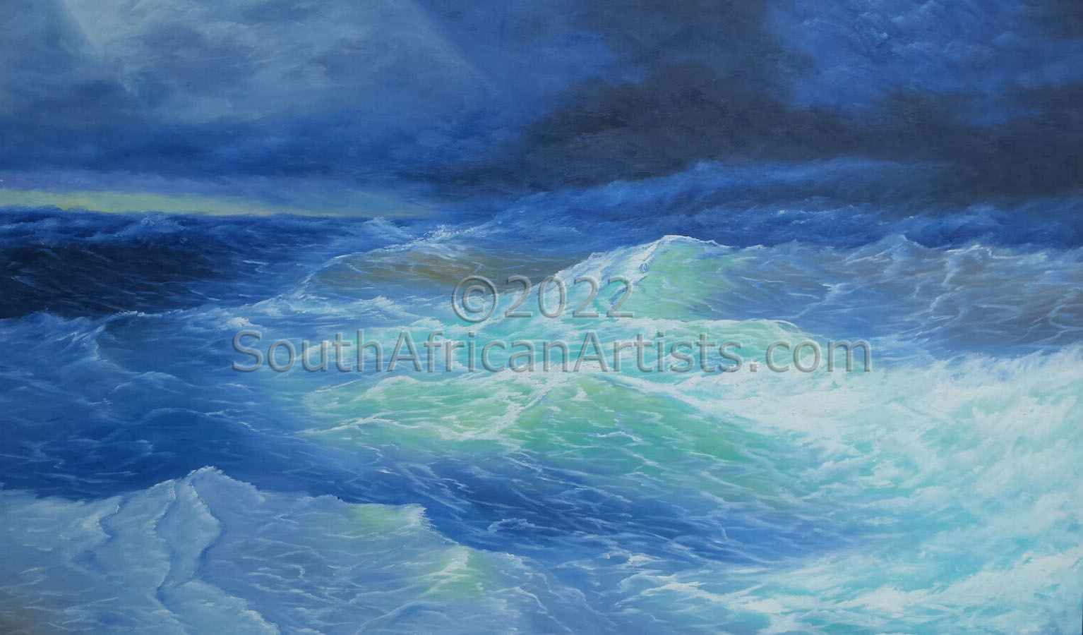 """Stormy Waters"""