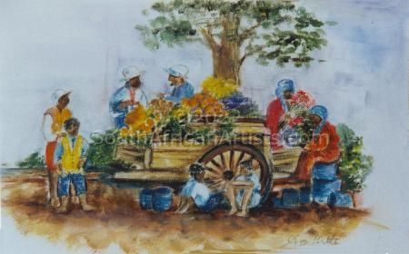 """Cape Flower Sellers"""