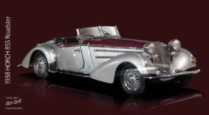 """1938 Horch 855 Roadster"""